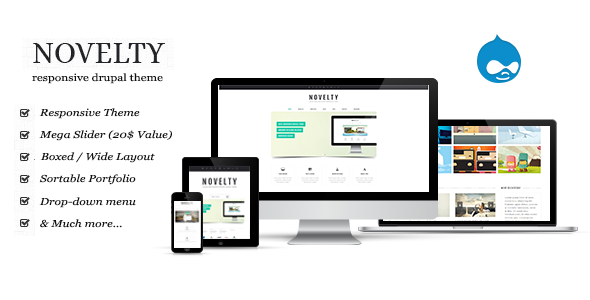 Download ThemeForest Novelty Drupal Theme for free.