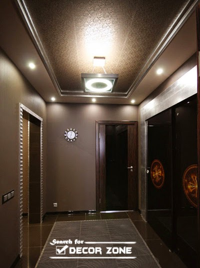Decor Zoom : hallway false ceiling design with built in lighting system from www.decor-zoom.com size 400 x 537 jpeg 45kB