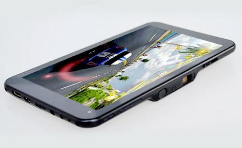 tablet android ada proyektornya, tablet dengan fitur unik