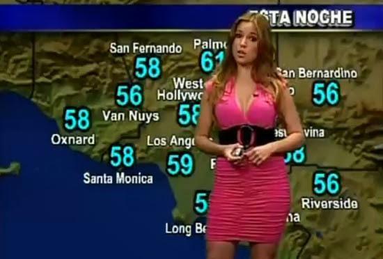 Cowok Pasti Suka Pembaca Berita Cuaca Seksi