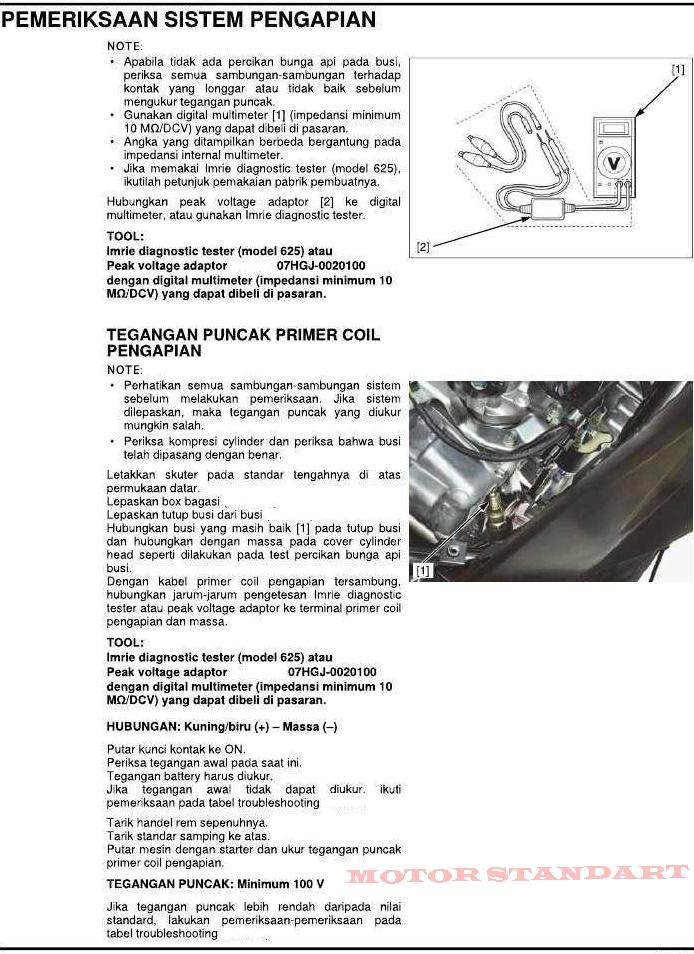 Trouble shooting sistem pengapian pgm f1 motor standart meneruskan artikel trouble shooting kali ini saya akan share mengenai sistem pengapian pada sepeda motor honda pgm f1 asfbconference2016 Image collections