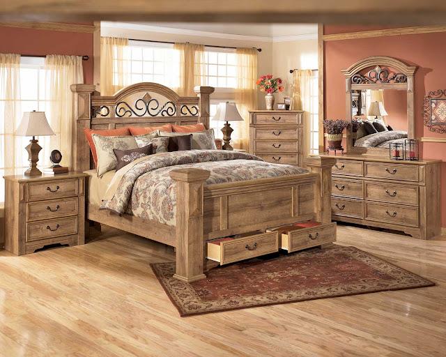 King Bedroom Sets: The Soft Vineyard-6