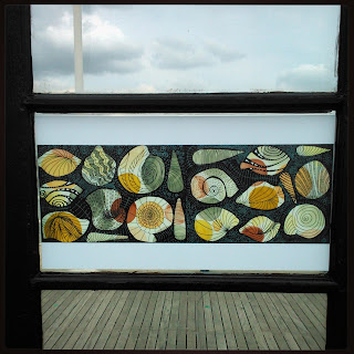 Artwork by Daniela Gargiulo on Worthing Pier