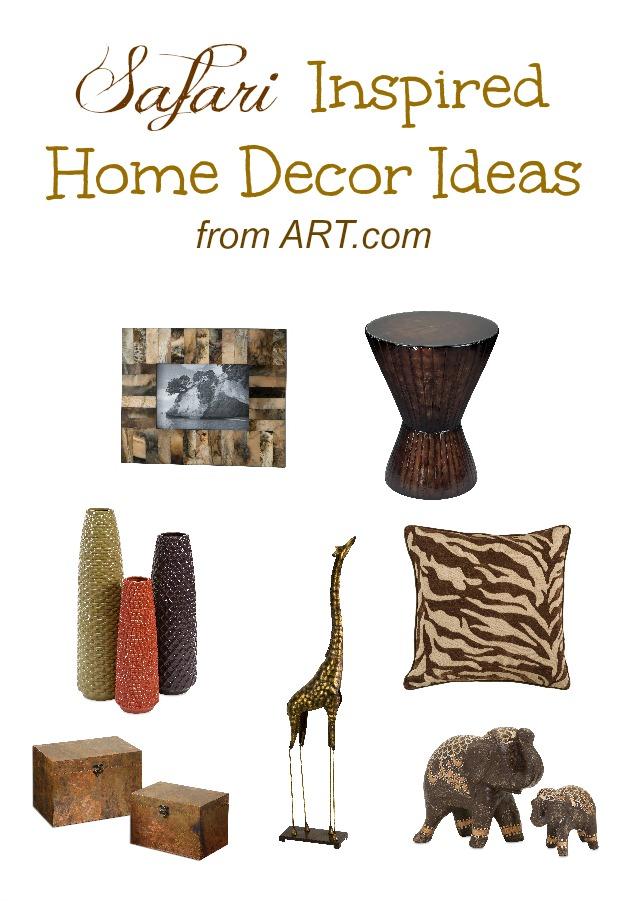 Safari Inspired Home Decor Ideas From Art Com