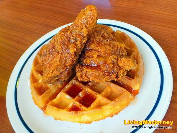 Sriracha Chicken and Waffle by MarjorieUy