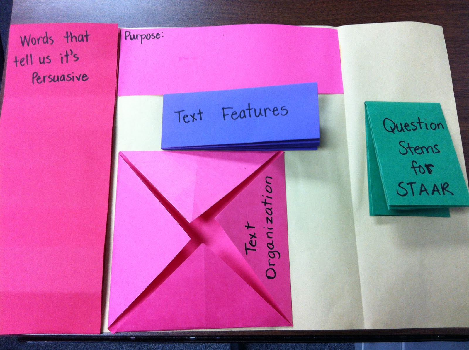 watch more like paper foldables for teaching