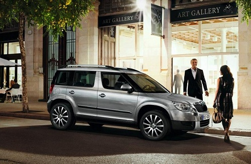 Skoda Yeti Laurin & Klement Edition