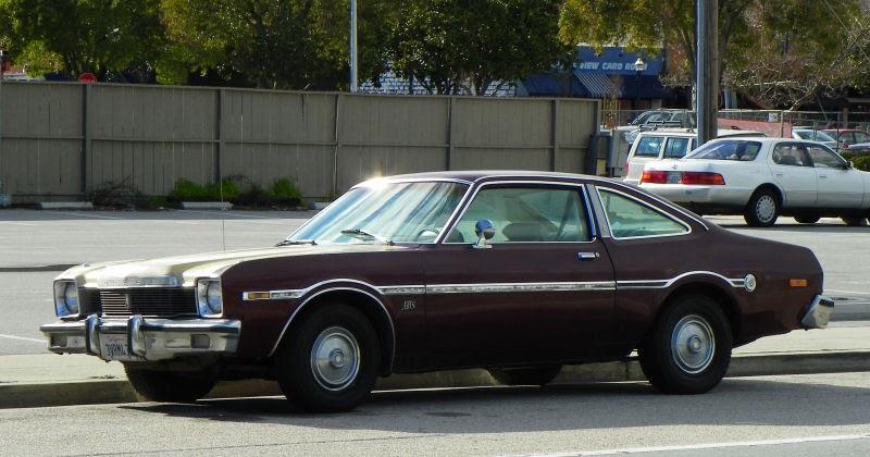 california streets santa cruz street sighting  dodge aspen custom coupe