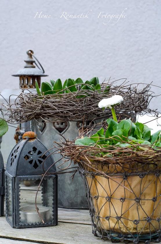 Home romantik m rz 2014 - Fruhlingsdeko eingangsbereich ...