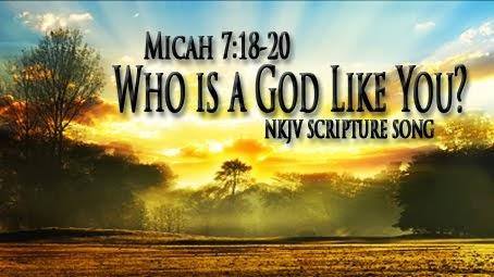 Micah 7:18-20