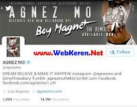 @agnezmo, Akun Twitter ratu media sosial indonesia dengan followers terbanyak