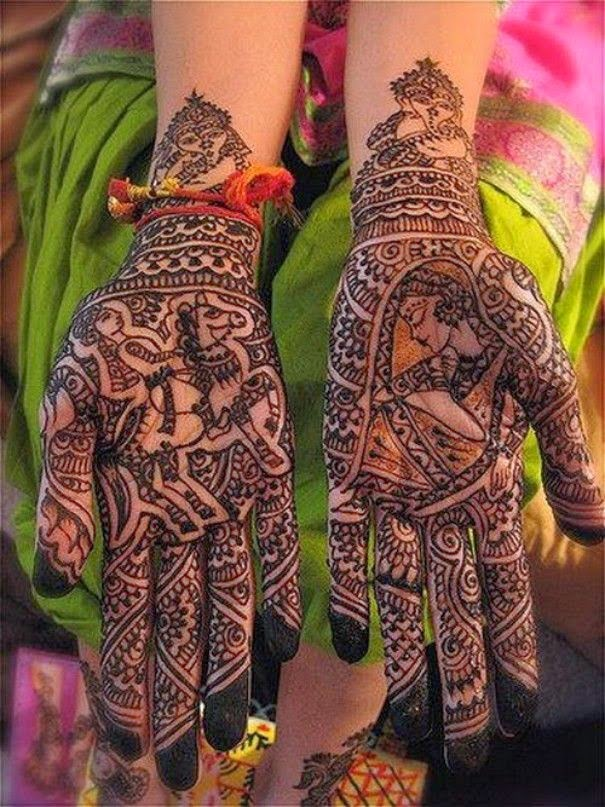Dulhan Mehndi Design : Latest dulhan mehndi designs gallery fashionip