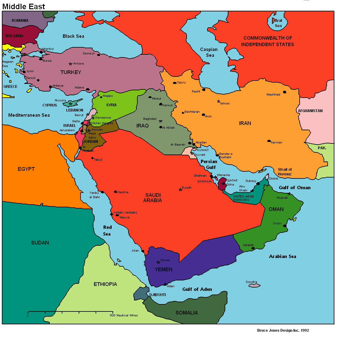 what in the world murder in the middle east