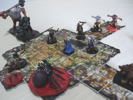 I classici descent giochi sul nostro tavolo - Dungeon gioco da tavolo ...