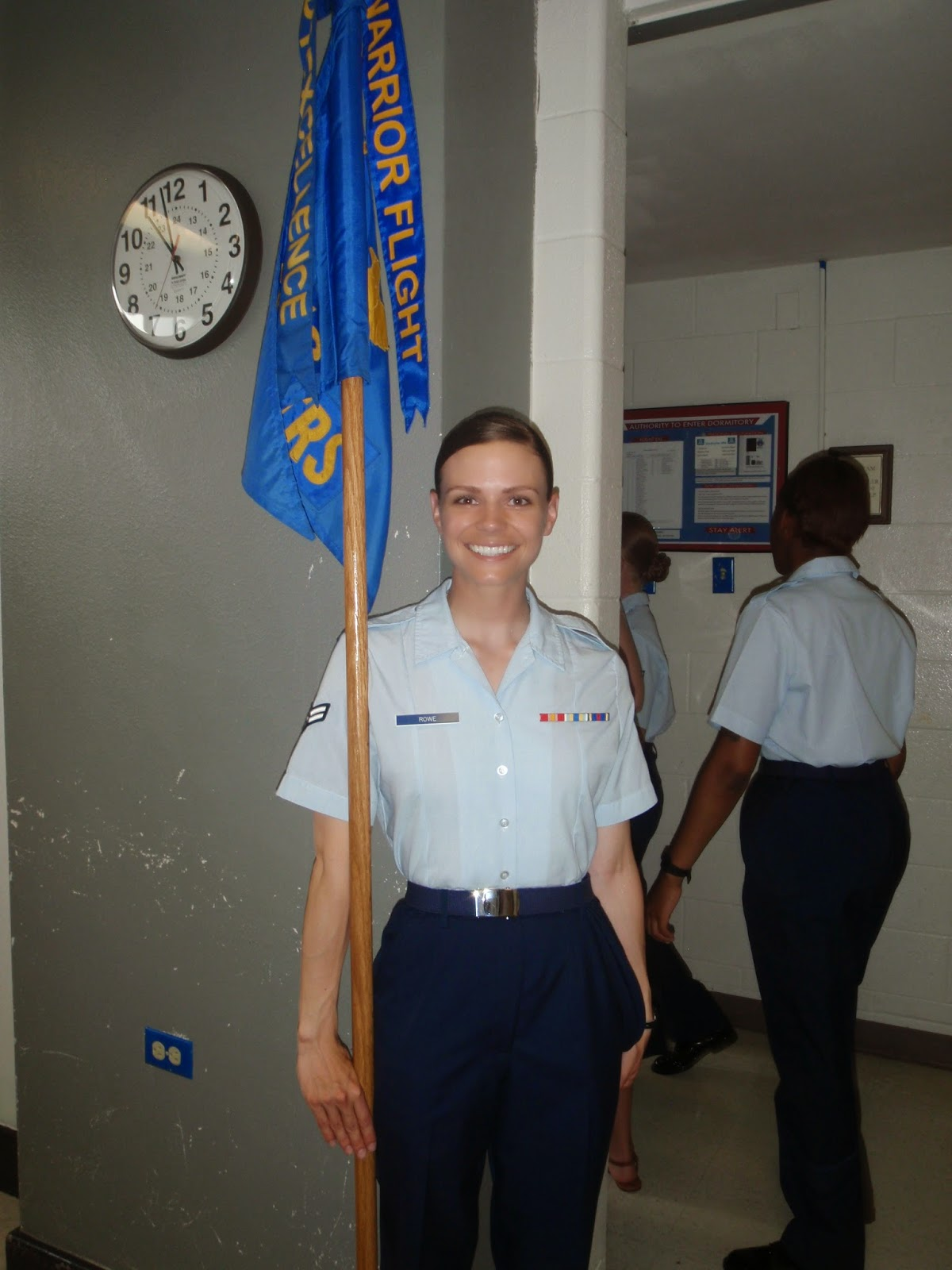 Air Force BMT Guideon Bearer