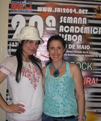 Yolanda Soares comigo na SJ Rádio