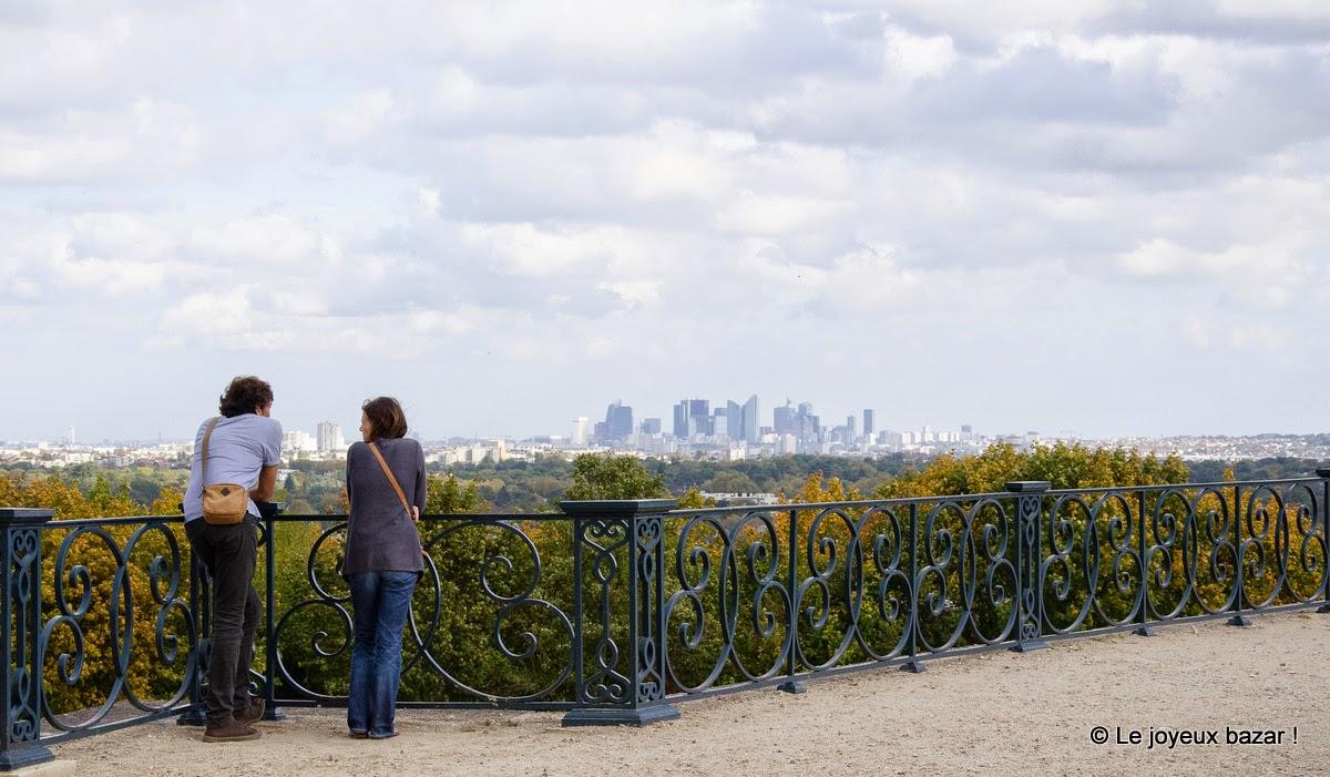 Saint Germain en Laye - vue sur la Défense
