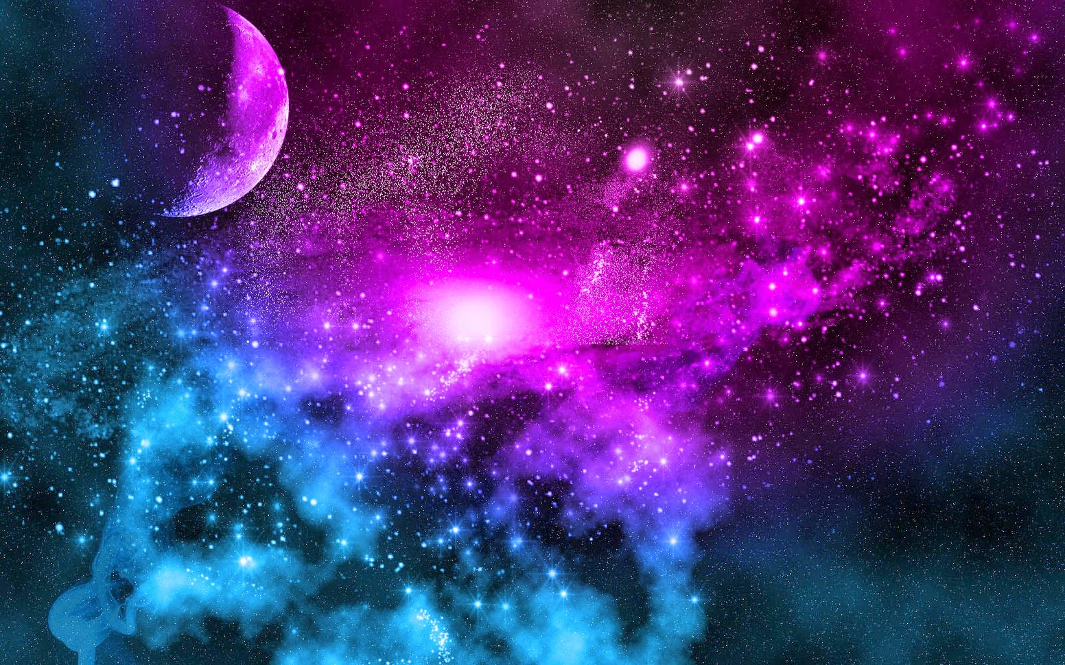 Galaxy Wallpaper Bedroom
