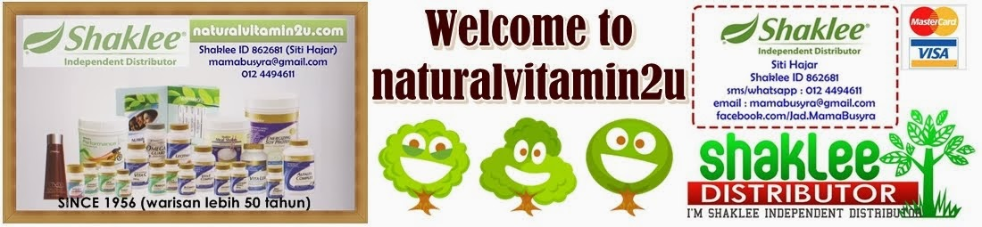 lets supplement your diet with natural vitamins