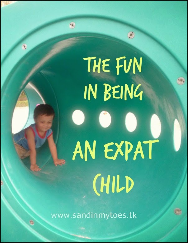 The fun in being an expat child