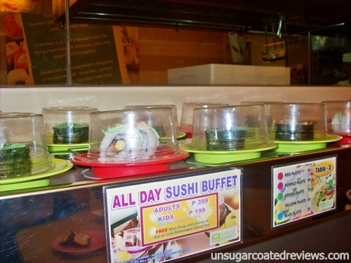sushi buffet Sakae Sushi SM North Annex