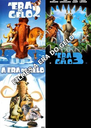 Download A Era do Gelo 1, 2, 3 e 4 Dublado DVDRip
