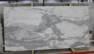 White Marble -Statuario Venato Marble Slab in New York