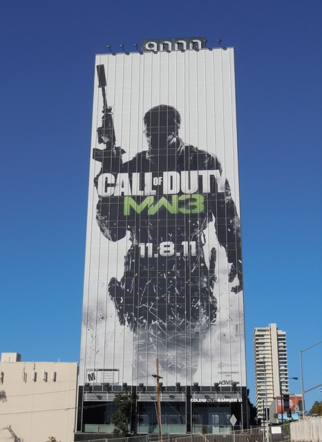 Call of Duty MW3 billboard