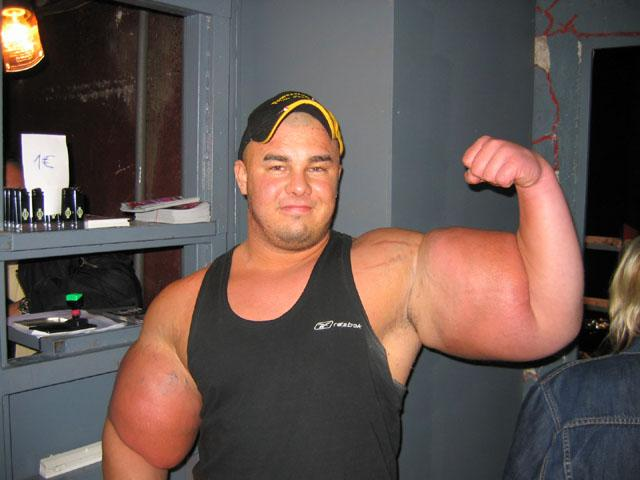 strength fighter� synthol arms