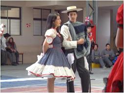 Concurso cueca escolar del colegio 2012