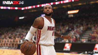 NBA 2K14 Next-Gen Screenshot ft. LeBron James