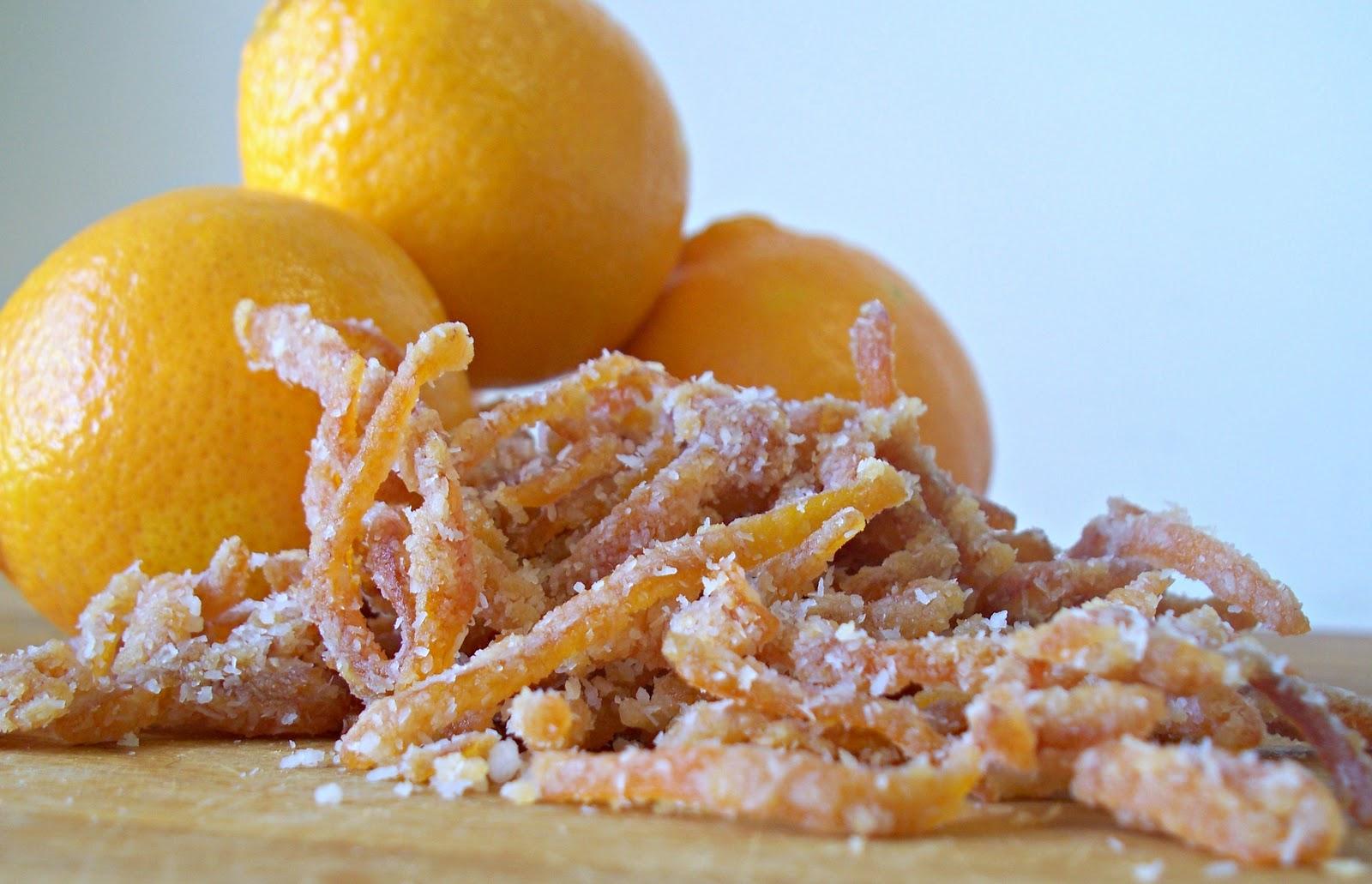 The Urban Poser:: Honey Candied Citrus Peel (GAPS)