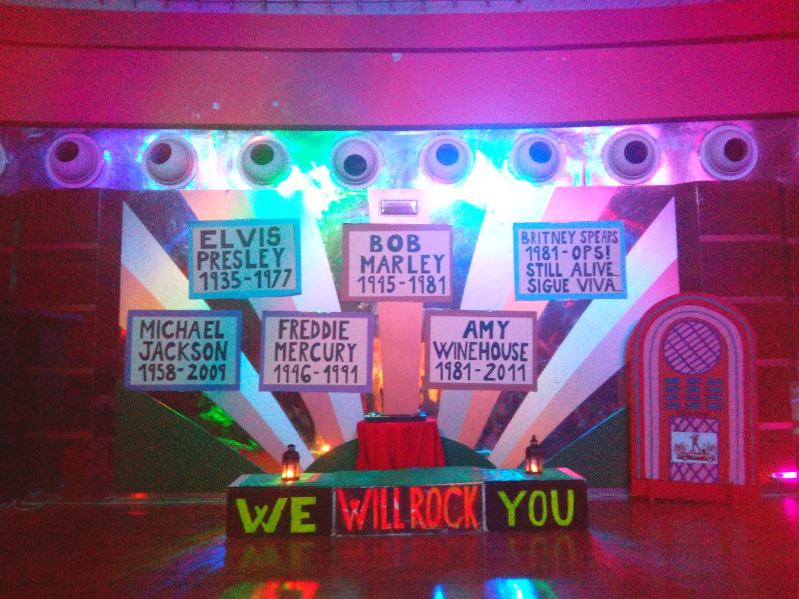 Decoracion De Un Karaoke ~ lunes, 22 de septiembre de 2014
