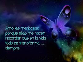 Mariposas...