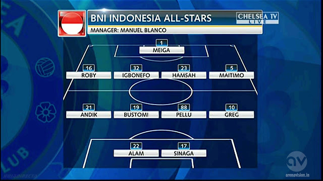 Friendly - BNI Indonesia All-Stars vs Chelsea