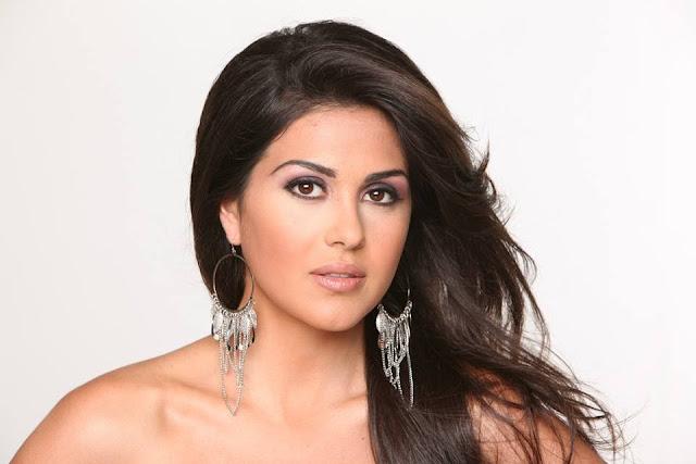 Miss Universe Spain 2013 winner Anastasia Sidiropoulou