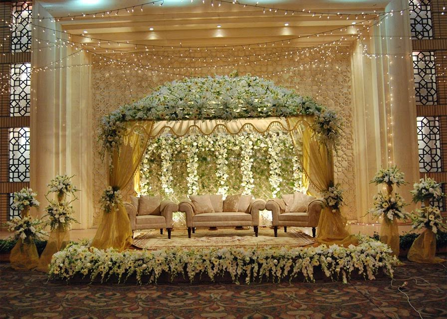 wedding stage decorations in - photo #39