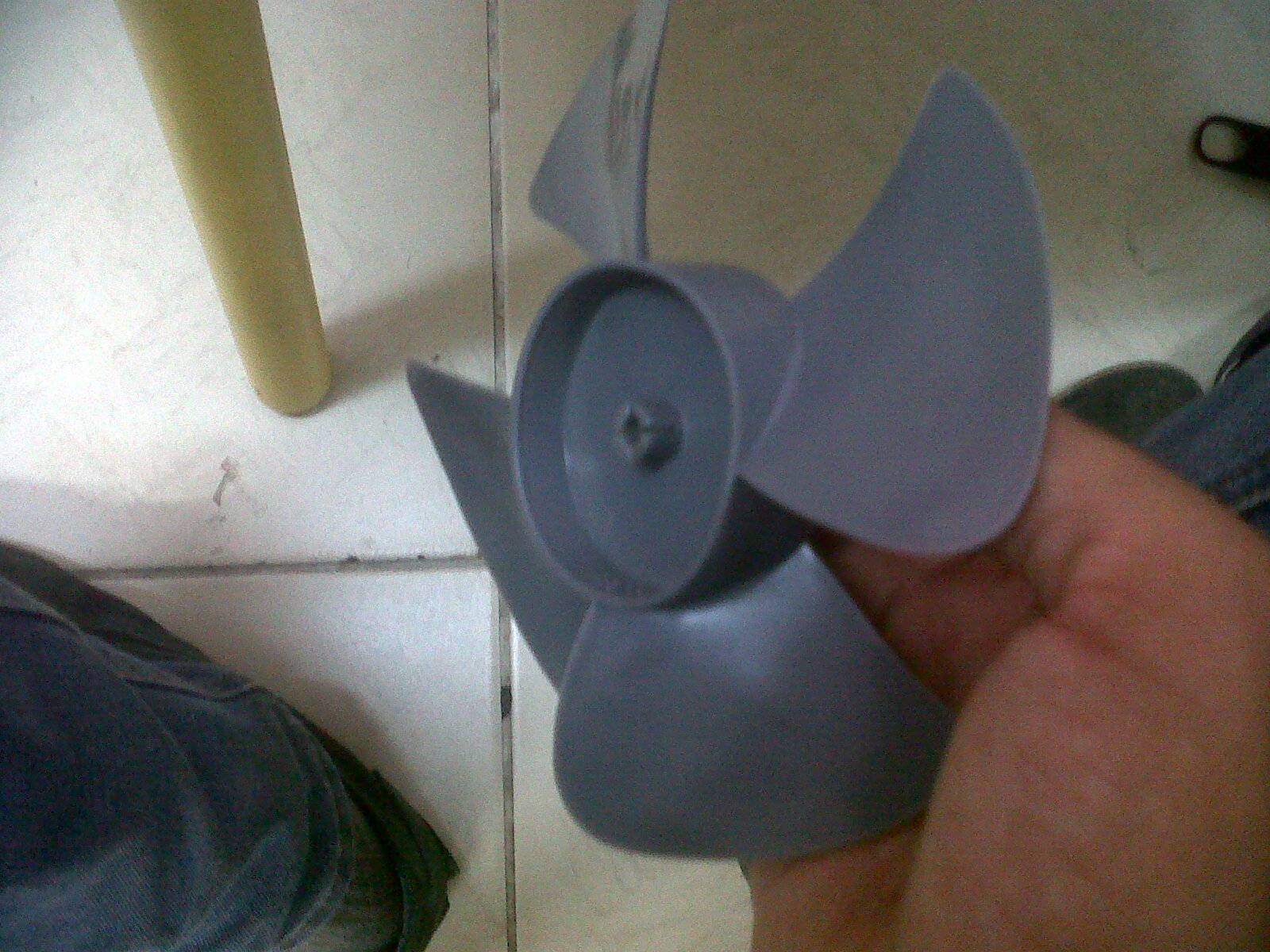 Como hacer aspas de ventilador airea condicionado - Como hacer un abanico ...