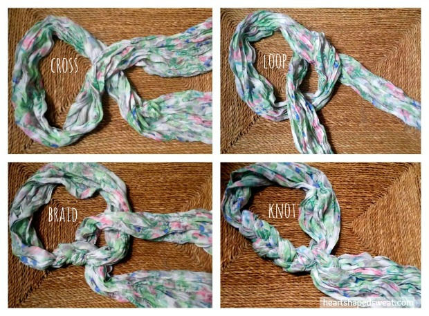 braided scarf tutorial, scarf tutorial