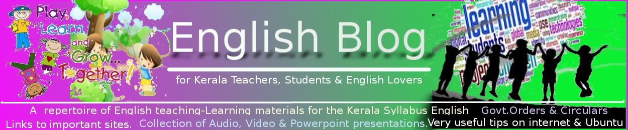 english4keralasyllabus.com - A webspace 4 Kerala Syllabus English Teachers & Students
