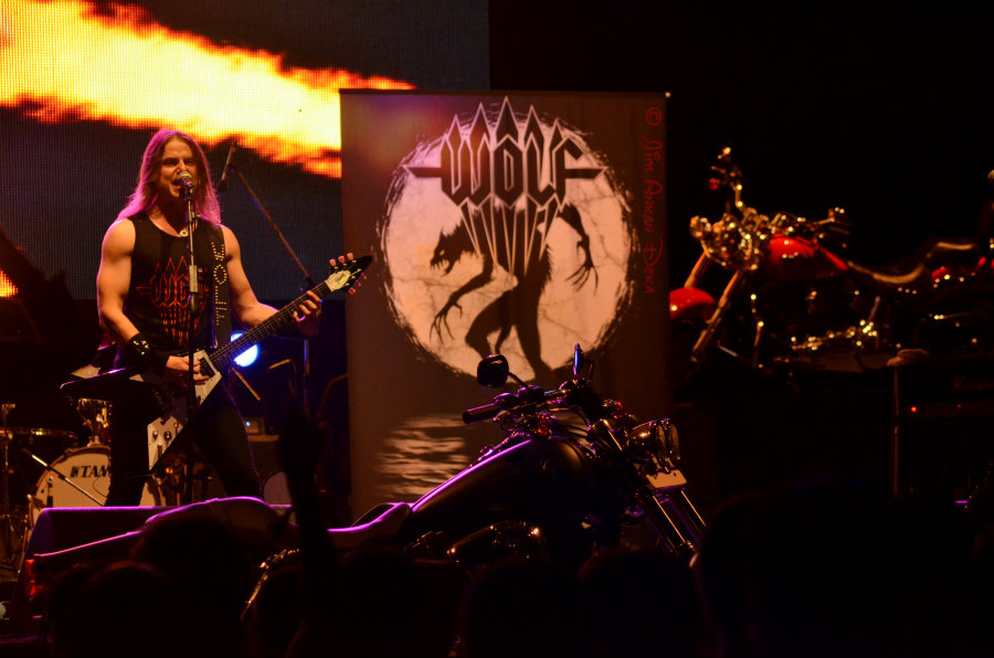 Niklas Stålvind of Wolf at Harley Rock Riders, Bangalore - Jim Ankan photography