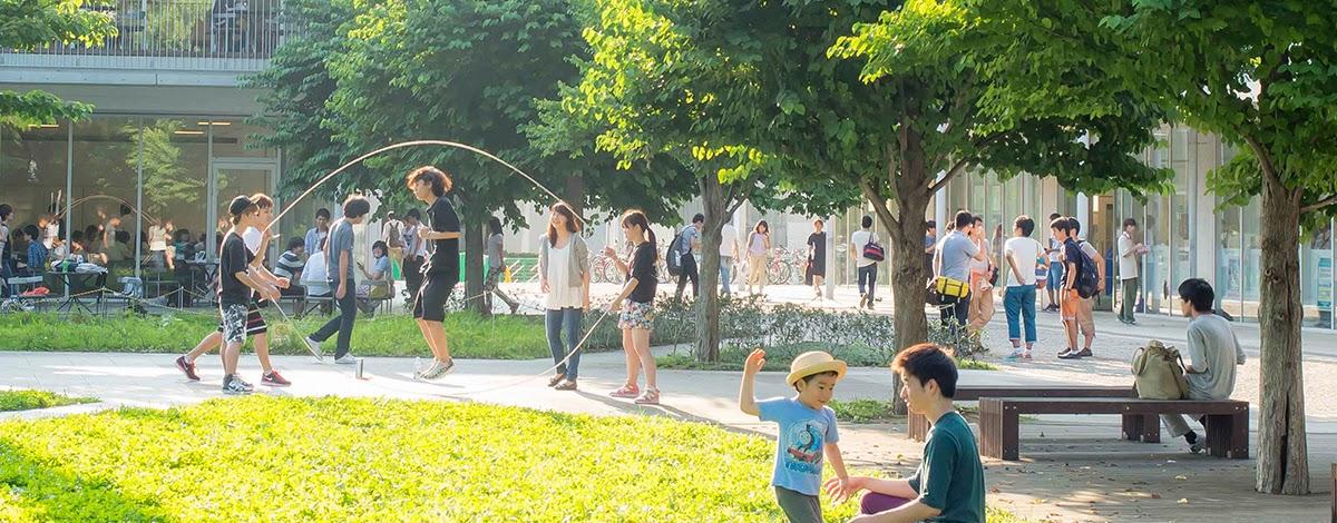 Khuôn viên Trường đại học Tokyo Nhật Bản