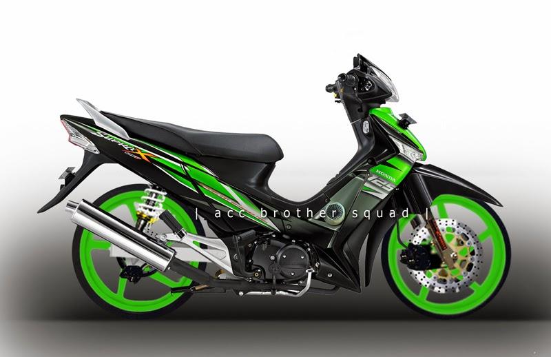 Gambar Modifikasi Motor Supra X