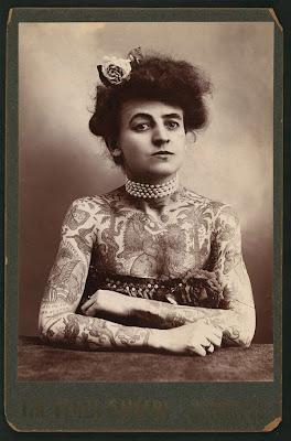 Винтажные татуировки