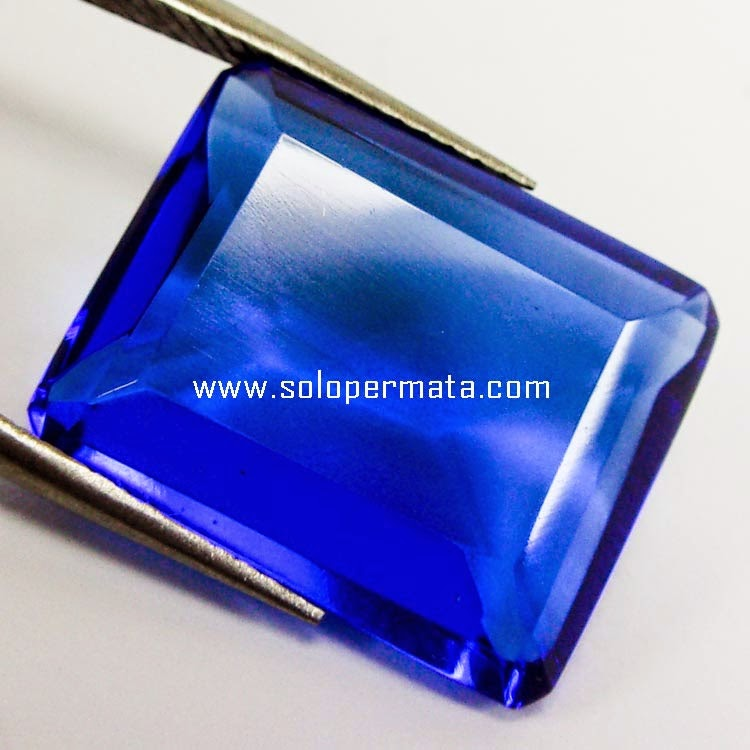 Batu Permata Blue Obsidian+Memo