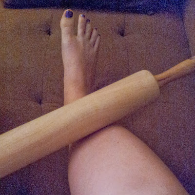 marathon training rolling pin