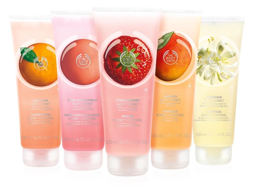 The Body Shop sorbetti frutta corpo