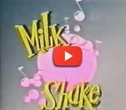 Abertura do programa Milk Shake com Angélica. Atração da TV Manchete.