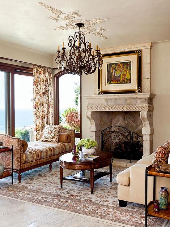 Salones con chimeneas mi casa inventada - Salones con chimeneas ...