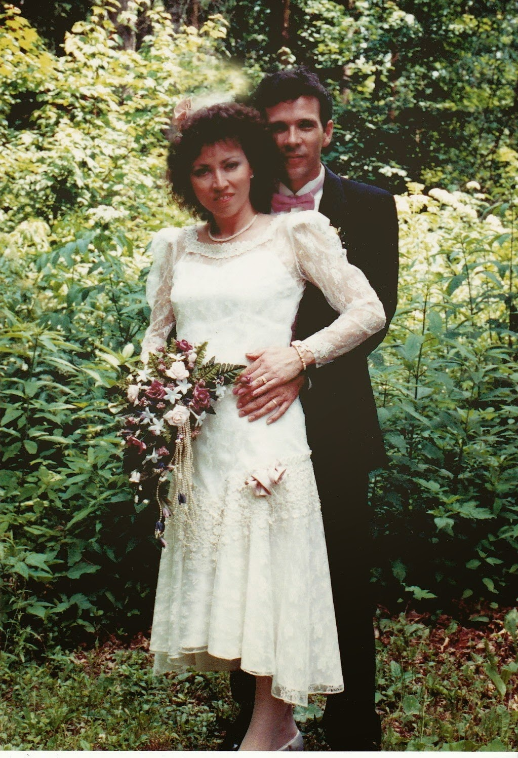 Twenty-Five Years since I married the man of my dreams.